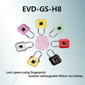 Smart Fingerprint Padlock USB Charging Waterproof