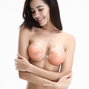 Backless Bra Cup A B C D Silicone