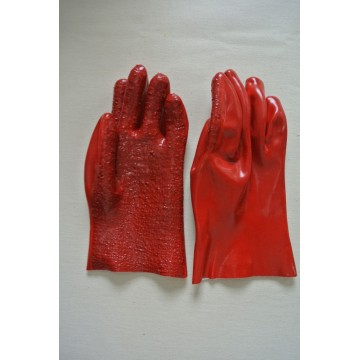 PVC Gloves with Toweling Shell