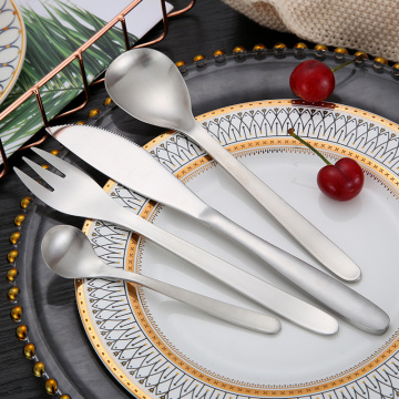 Wholesale Food grade household Stainless steel Flatware Set