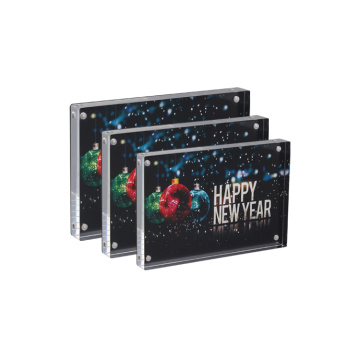 Apex Christmas New Year Removable Acrylic Picture Frame