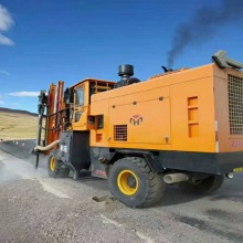 Vehicle Type Road Pile engineering all-in-one machine