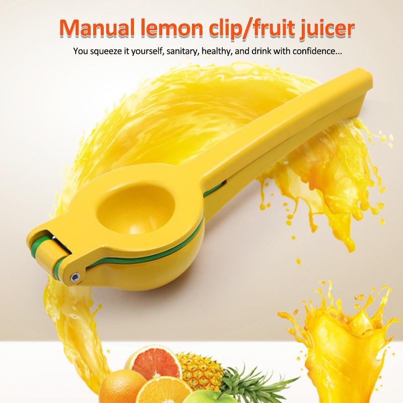 Newest Stainless Steel Lemon Clip Orange Squeezer Juicer the Ultimate Manual Press Kitchen Fresh Citrus Fruit Heavy Duty Squeeze