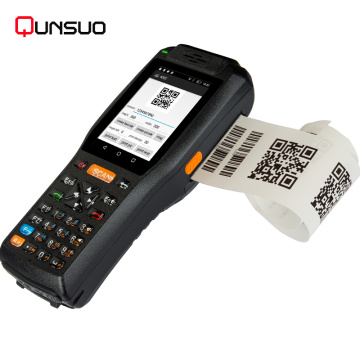 Handheld Android POS terminal for smart retail ticketing