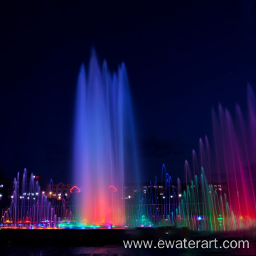 Water Screen Music Dancing Fountain