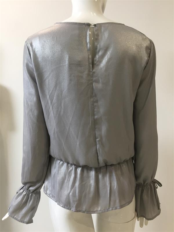 Pressed Blouse for Spring Wear