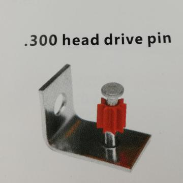 Right Angle Drive Pin With Ceiling Clip