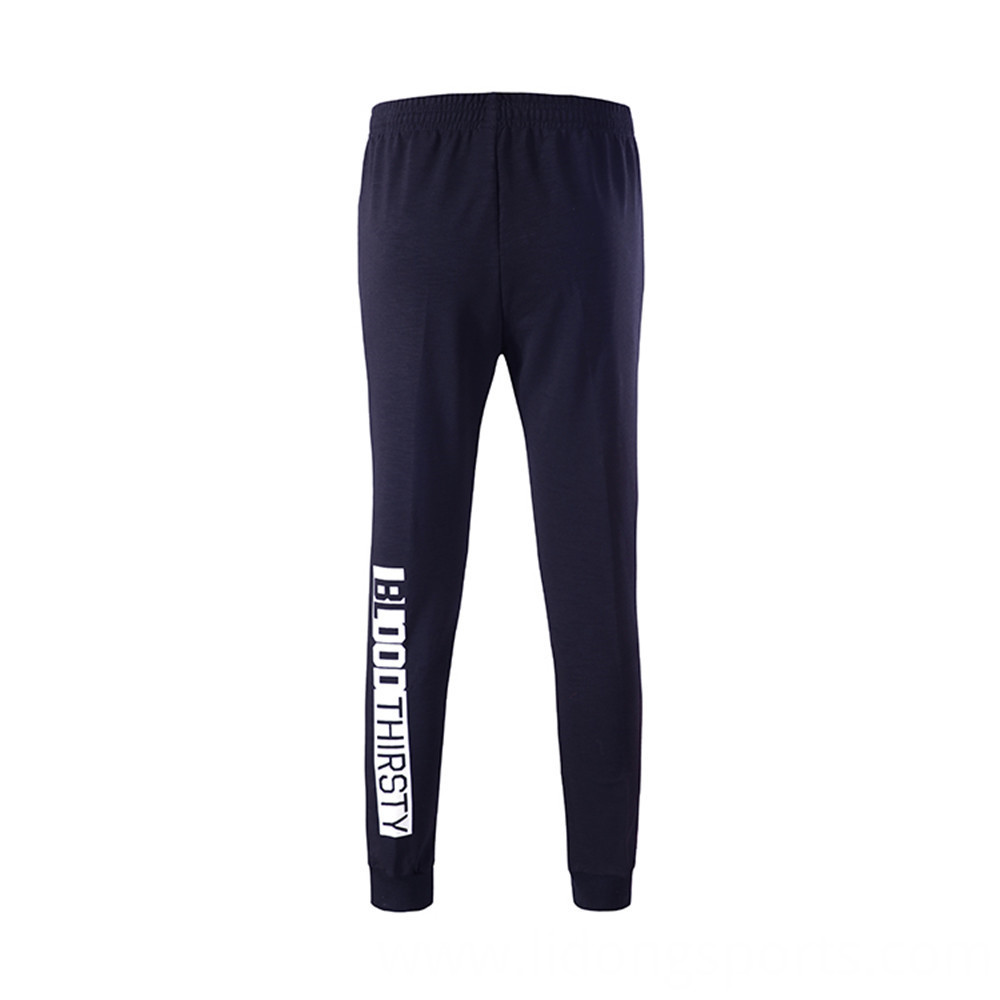 Casual Male Striped Track Pants Pocket with Zipper