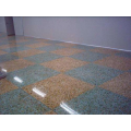 Corrosion-resistant epoxy colored sand floor