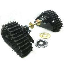Kids Go Kart Karting UTV Buggy Quad Rear wheel ATV Snow Sand Snowmobile Tracks assembly with axle chain sporcket brake disc