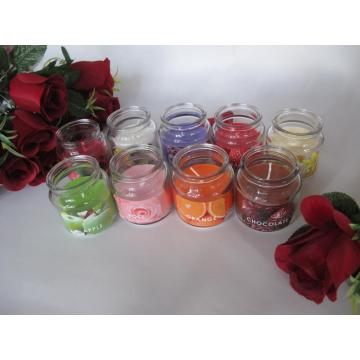 Scented High Quality Candle in Glass Jar
