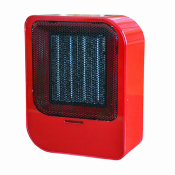 Fan heater with PTC ceramic