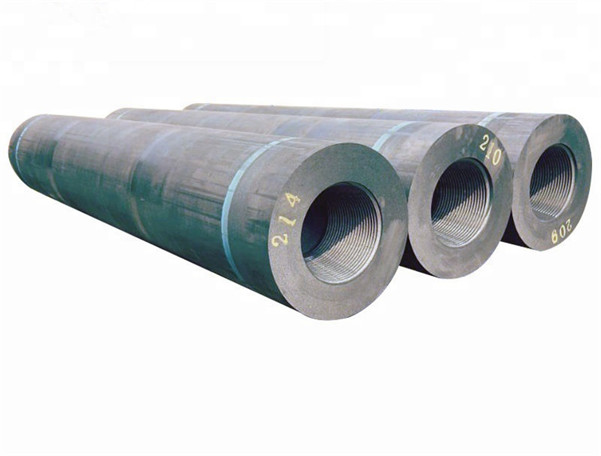UHP550 600 650 Length 2400mm Graphite Carbon Electrode