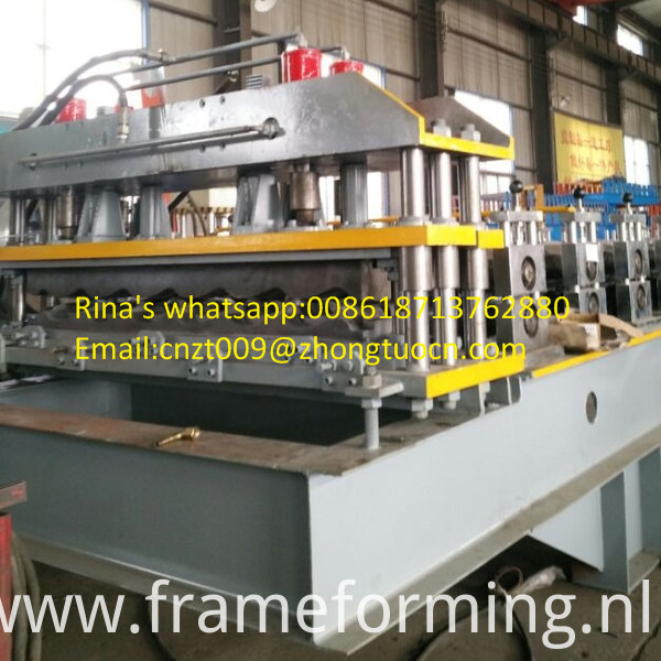 steel sheet roof sheet roll forming machine line 17