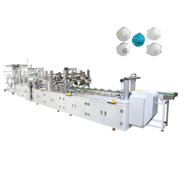 Automatic Nonwoven Cup N95 Respirator Mask Making Machine