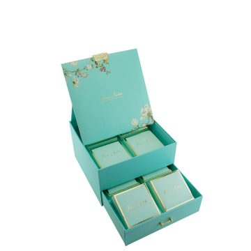 Double Layer Drawer Sliding Mooncake Gift Box