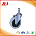 3'' Friction ring caster with pu wheels