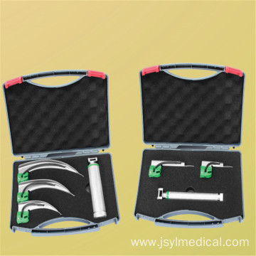 Optical Fiber Disposable Laryngoscope Set