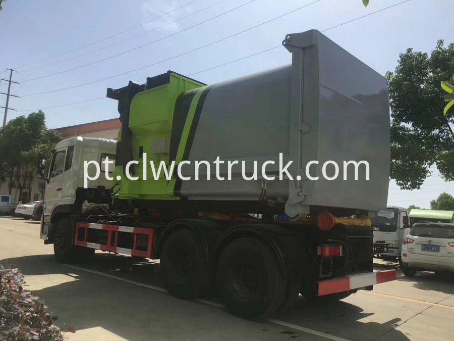 waste management roll off truck 4