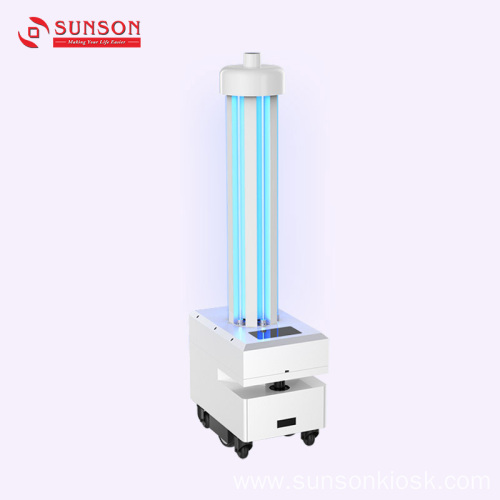 UV Lamp Disinfection Robot
