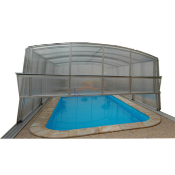 Heat Retaining Ground Swimming Pool Cover Polycarbonate