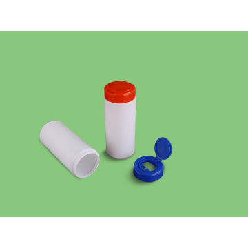 Customized Plastic Toilet Wet Wipes Canister
