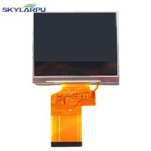 "skylarpu New 3.5"" inch LCD Screen display panel for Satlink WS 6909 lcd panel satellite Finder Meter Free Shipping"