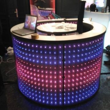 LED RGB module string light DJ booth