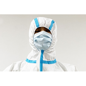 Disposable Non-woven Pe Coated Isolation Gown Universal Size