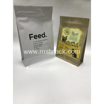 Box Pouch/Flat Bottom Pouch for Feeds