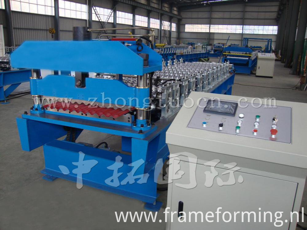Corrugated board roll forming machine (23)