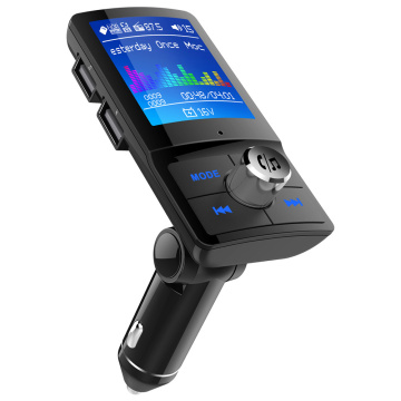 Car FM Transmitter LCD Display Wireless Bluetooth Handsfree Car MP3 Player AUX Audio Receiver USB Support TF Card / U Disk