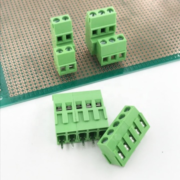5.08mm pitch double rows PCB screw terminal block