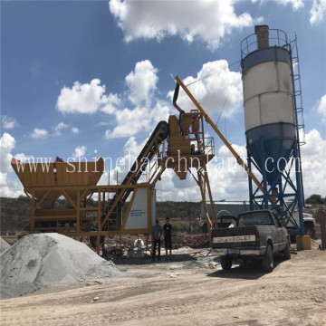 Mobile Concrete Batch Plant for Philippines