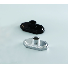 Fine perfume spray pump aluminum collar for bottle