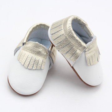 Leather Baby Girl Toddler Shoes Infant Moccasin Shoes