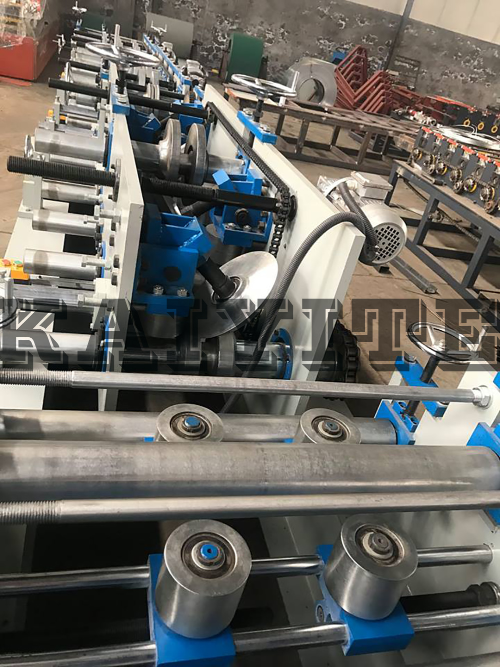 High Speed Color Coated Steel Z Purlin Roll Forming