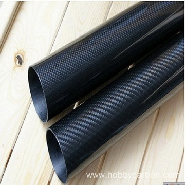 I-3K Carbon Fiber Tube noma i-CarbonFib Tube ye-Colored