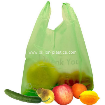 Plastic Vest Carrier Shopping Bag Wholesale