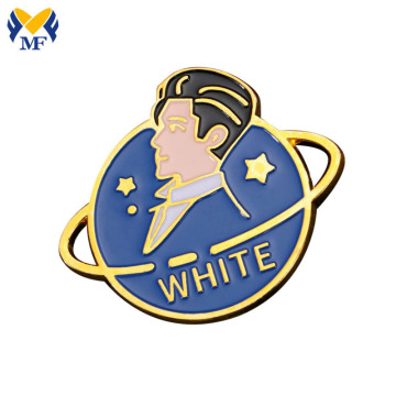 Custom Soft Enamel Metal Lapel Pin Badge