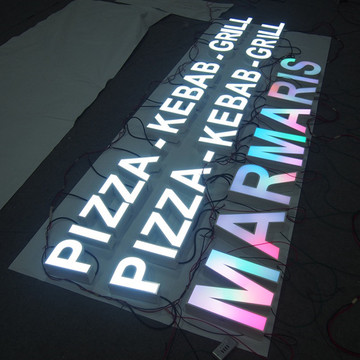 Outdoor Illuminated Signs Letter