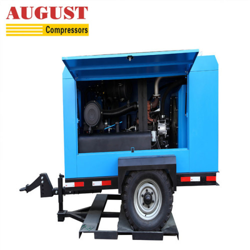 AUGUST 110KW 150HP  portable tire air compressor