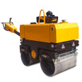 Small hydraulic double drums road roller