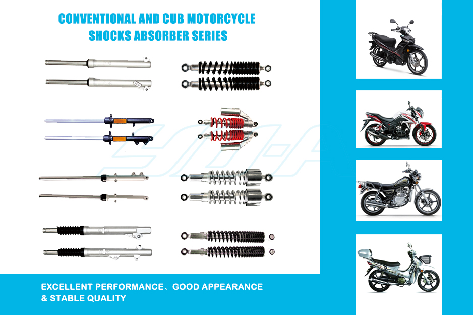 2 Conventional and cub moto shocks series-1