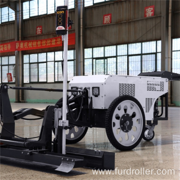 Gasoline engine 25HP hydraulic hand push type concrete laser screed machine FDJP-24D