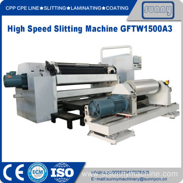Slitter Rewinder Machinery for plastic film