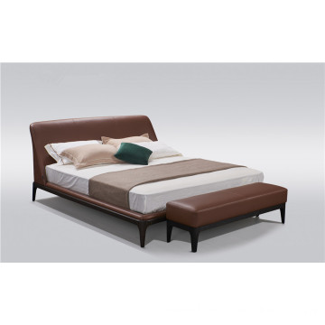 Solid wood base bed