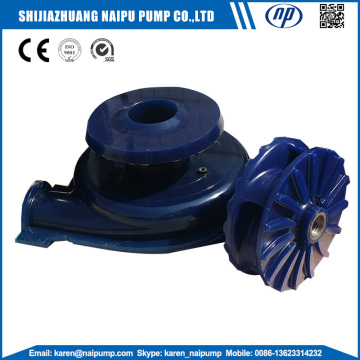 Wear Resistant Polyurethane Elastomer Pump Parts