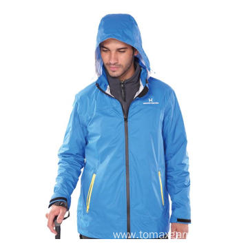 DTY Nylon Rip-Stop with PU coating Jacket