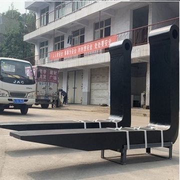 Good material heavy loading used forklift forks